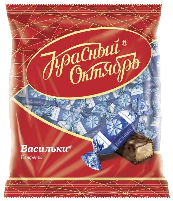 Конфеты Красный Октябрь Васильки, пакет
