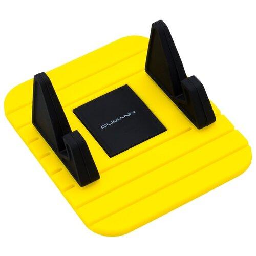Держатель Qumann QHP-06 черный / желтыйДержатели для мобильных устройств<br>