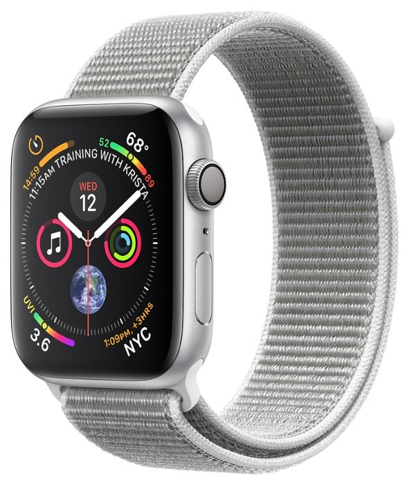 Apple Часы Apple Watch Series 4 GPS + Cellular 40mm Aluminum Case with Sport Loop