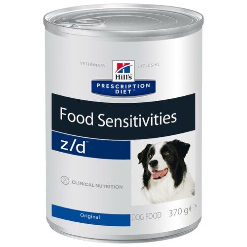 Корм для собак Hills (0.37 кг) 1 шт. Prescription Diet Z/D Canine Allergy Management cannedКорма для собак<br>