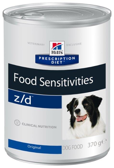 Корм для собак Hill's Prescription Diet при аллергии 12шт. х 370г