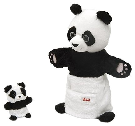 Trudi Игрушка на руку Панда с детенышем, 29998
