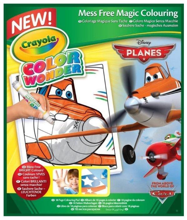 Crayola Раскраска Самолеты Color Wonder