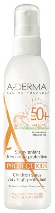 A-Derma Protect Kids солнцезащитный спрей для детей SPF 50