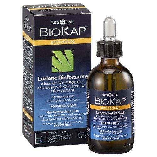 BioKap Лосьон для укрепления и защиты волос от выпадения (Шок Формула), 50 мл ducray неоптид лосьон от выпадения волос для мужчин 100 мл