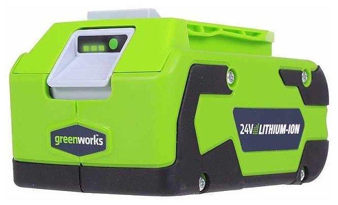Аккумуляторный блок greenworks G24B4 24 В 4 А·ч