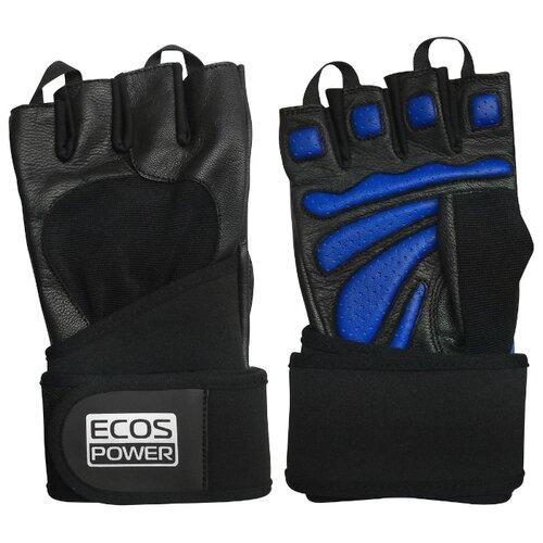 Перчатки ECOS Power 2006 черный/синий M