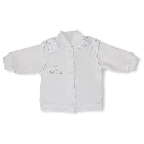 Купить Распашонка LEO размер 56, белый, Распашонки