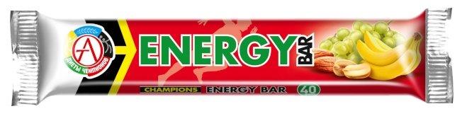 Академия-Т энергетический батончик Champions Energy Bar (40 г)(1 шт.)