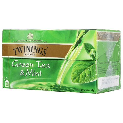 Чай зеленый Twinings Green tea
