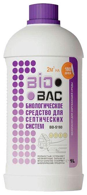 BioBac Биологическое средство для септических систем BB-S 180 1 л