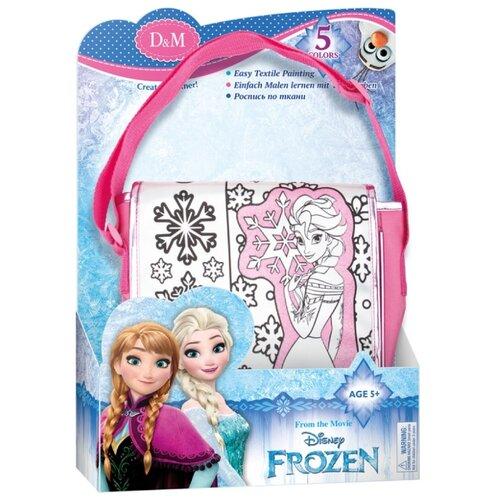 Купить D&M Набор для росписи сумки Эльза Frozen (65068), Роспись предметов