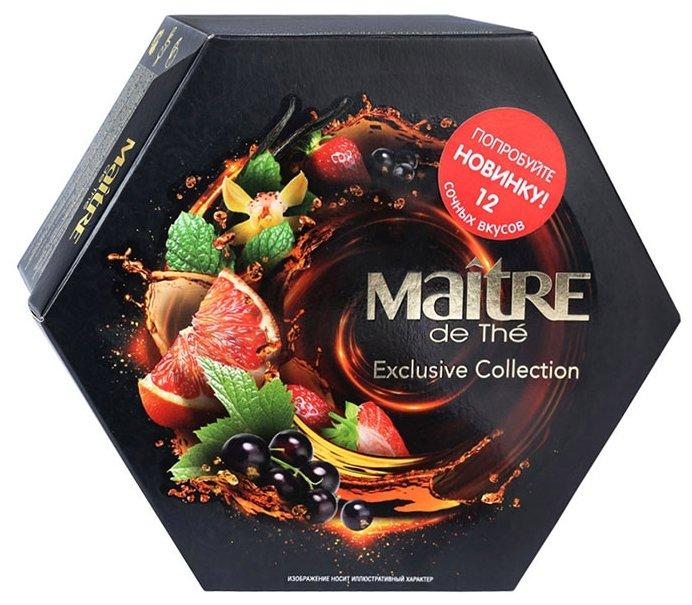 """Maitre Подарочный набор чая """"Exclusive Collection"""" 12 вкусов"""