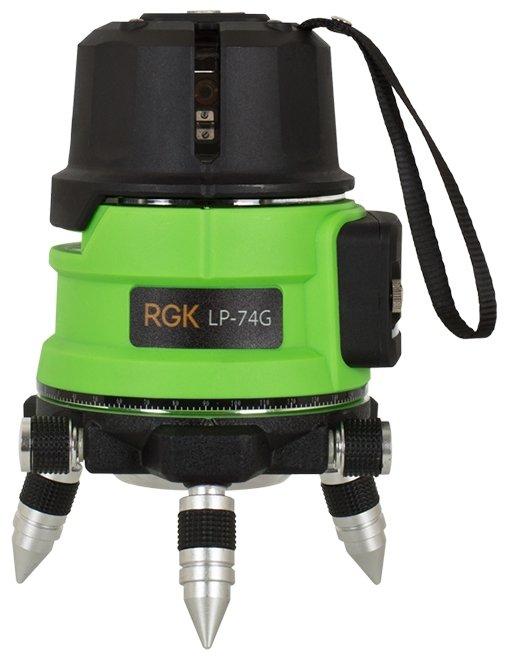 Лазерный уровень самовыравнивающийся RGK LP-74G (4610011874680)