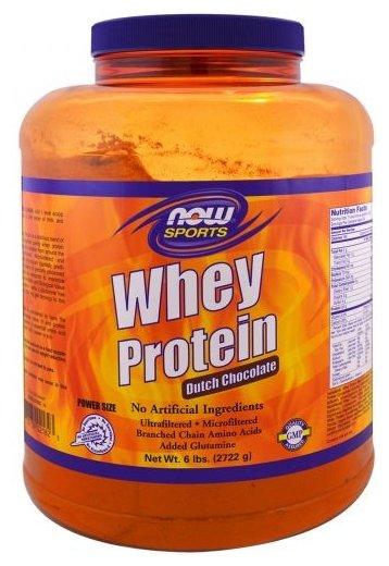 Протеин NOW Whey Protein (2722 г)