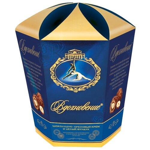 Набор конфет Вдохновение Шоколадно-ореховый крем и целый фундук 150 г