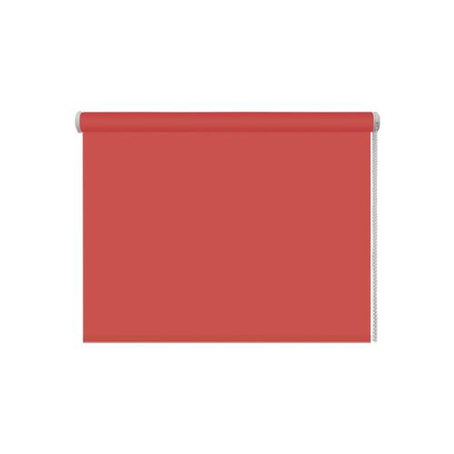 Рулонная штора DDA Универсальная однотонная (терракотовый), 160х160 смРимские и рулонные шторы<br>