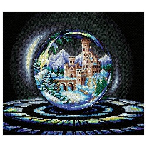 Сделай своими руками Набор для вышивания крестиком Шары желаний. Зимнее чудо 38 х 27,5 см (Ш-05)