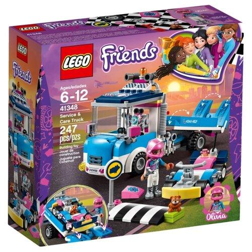 Купить Конструктор LEGO Friends 41348 Грузовик техобслуживания, Конструкторы