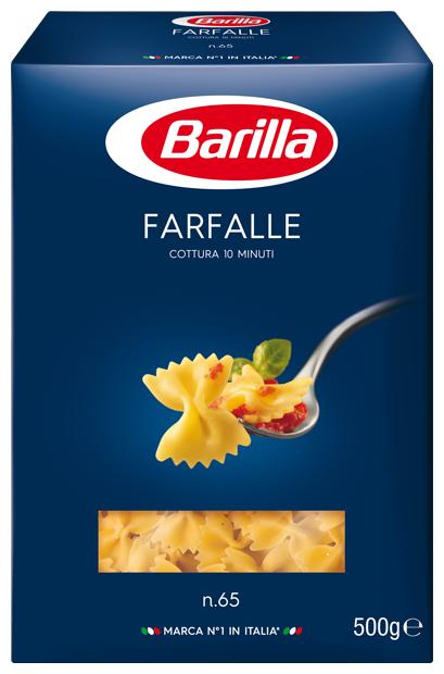 Паста Barilla Farfalle n.65, 500 г