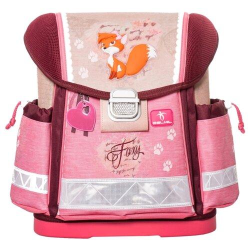 Купить Belmil Ранец Foxy (403-13/402), розовый/бордовый, Рюкзаки, ранцы