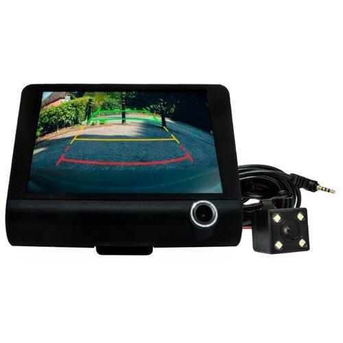 Видеорегистратор Slimtec Triple, 3 камеры черный