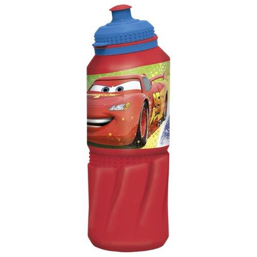 Бутылка для воды, для безалкогольных напитков Stor спортивная 0.53 пластик Тачки Грани гонок