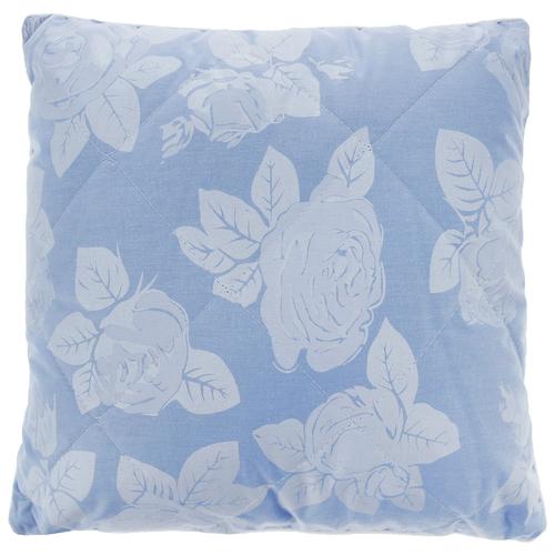 Подушка BIO-TEXTILES (SPC521) 40 х 40 см голубой подушка валик bio textiles со съемной наволочкой холлофайбер f597 голубой 40 х 10 х 10 см