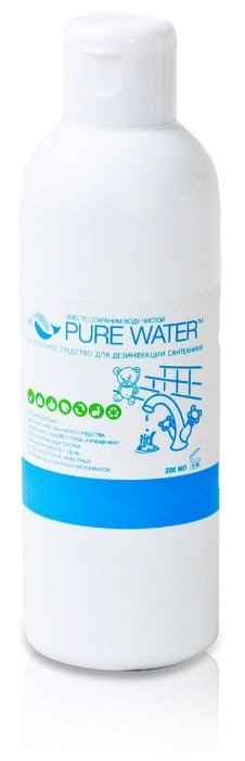 PURE WATER Натуральное средство с дезинфицирующим эффектом 0.2 л