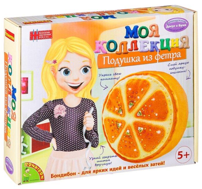 BONDIBON Набор для шитья Шьем из фетра Подушка-апельсин (ВВ1244)