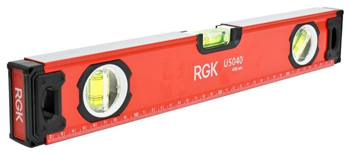 Уровень брусковый 3 глаз. RGK U5040 40 см