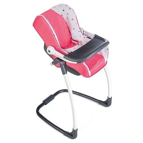 Купить Smoby Стульчик-переноска 3 в 1 MC&Quinny (240230) розовый/серый/белый, Мебель для кукол
