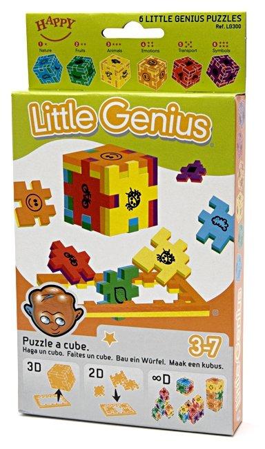 Набор головоломок Happy Cube Маленький гений (LG300/40) 6 шт.