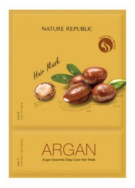 NATURE REPUBLIC Argan Essential Маска для волос