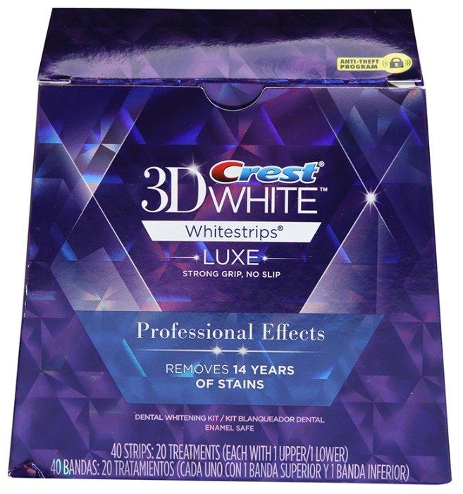 Отбеливающие полоски Crest 3D White Professional Effects