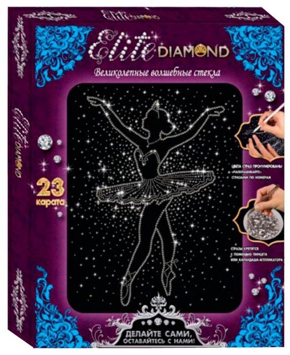 Лапландия Набор алмазной вышивки Elite Diamond Балерина (45658)
