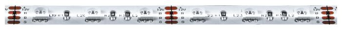 Светодиодная лента Navigator NLS-5050RGB60-14.4-IP20-12V-Pro R5 5 м