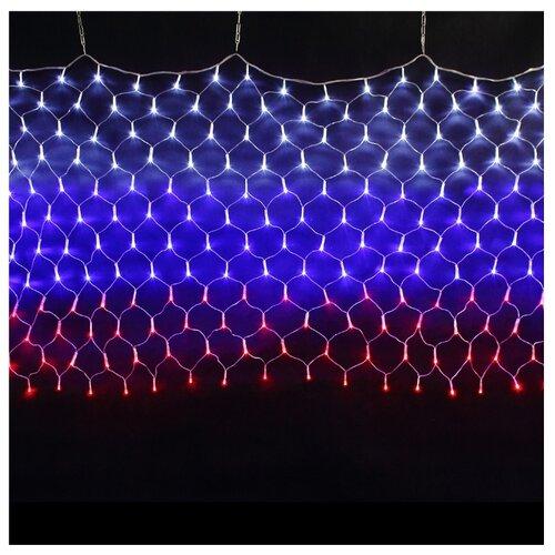 Гирлянда Sh Lights Сетка Флаг России 150 Х 90 NTLD240-RT, 240 ламп