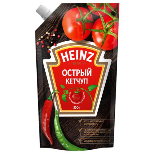 Кетчуп Heinz Острый, дой-пак 350 г