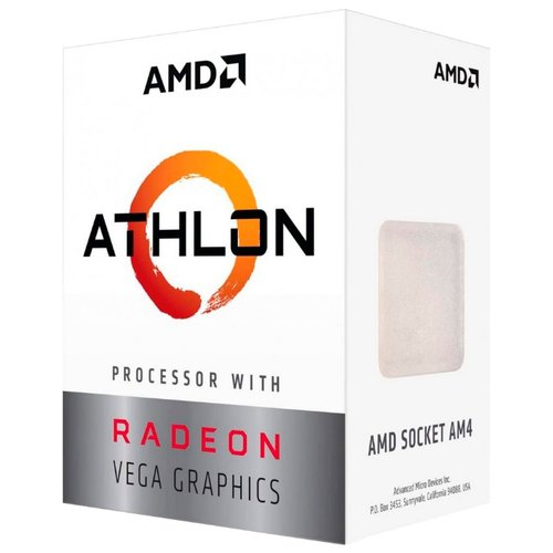 Процессор AMD Athlon 200GE Raven Ridge (AM4, L3 4096Kb) BOX