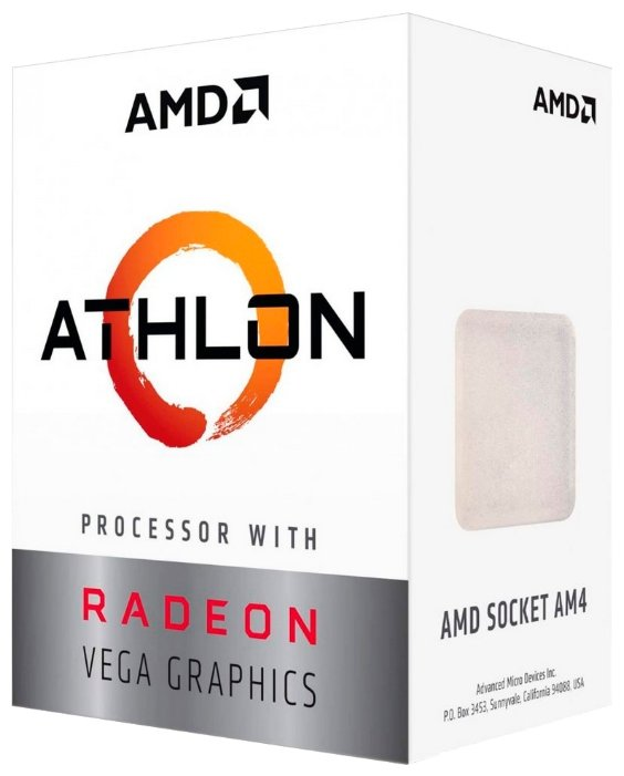 AMD Процессор AMD Athlon Raven Ridge