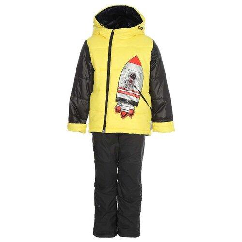 Комплект с брюками BOOM! размер 80, желтыйКомплекты верхней одежды<br>