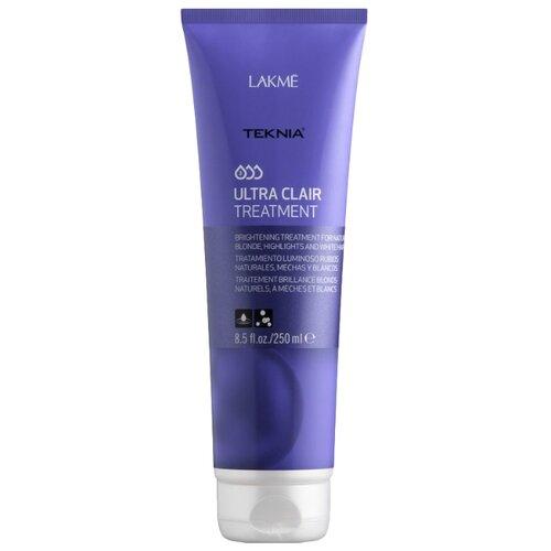 Lakme Teknia Ultra Clair Средство тонирующее для обесцвеченных, натуральных светлых и седых волос, 250 млМаски и сыворотки<br>