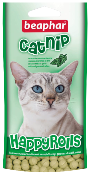 Лакомство для кошек Beaphar Happy Rolls Catnip