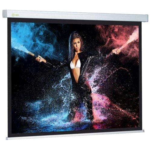 Фото - Рулонный матовый белый экран cactus Wallscreen CS-PSW-180x180 экран настенный cactus cs psw 180x180 180 x 180 см