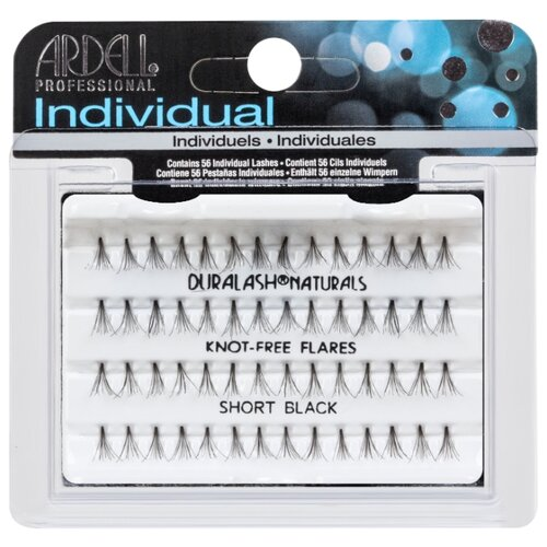Ardell пучки ресниц Duralash Knot-Free Flares Short Black black пучки ресниц ardell ardell ar043lwxzj87