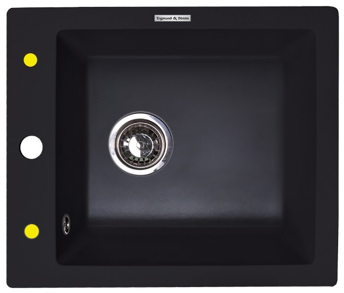 Врезная кухонная мойка Zigmund & Shtain PLATZ 425 42.5х50см искусственный гранит