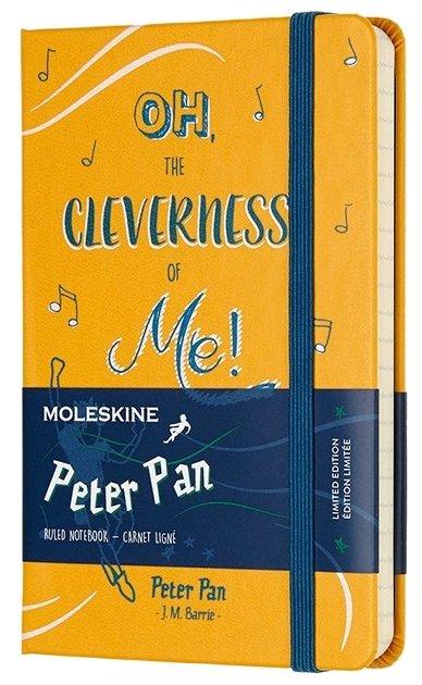 Блокнот Moleskine Peter Pan Pocket 90x140, 96 листов 430821(LEPN01BMM710)