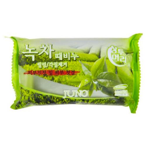 Мыло-скраб Juno с зеленым чаем, 150 г
