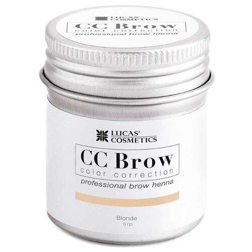 CC Brow Хна для бровей в баночке 5 г blonde хна для бровей cc brow cc brow cc003lwxzk23